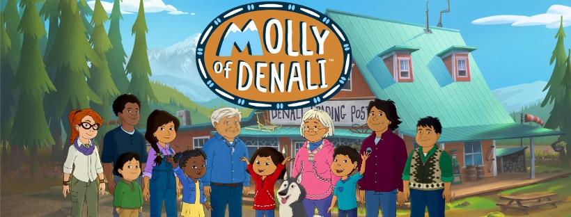 """Photo of """"Molly of Denali"""", una serie animata per scoprire valori e tradizioni dei nativi dell'Alaska"""