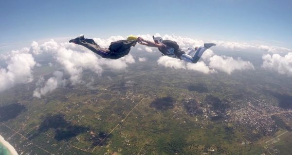 base jumper, josefin sando