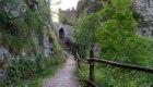 L'attuale entrata del castello di Salorno, Haderburg. Foto Va' Sentiero