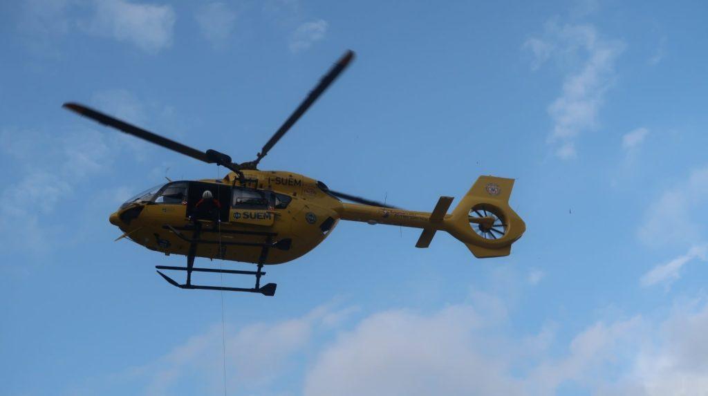 Elicottero soccorso alpino veneto