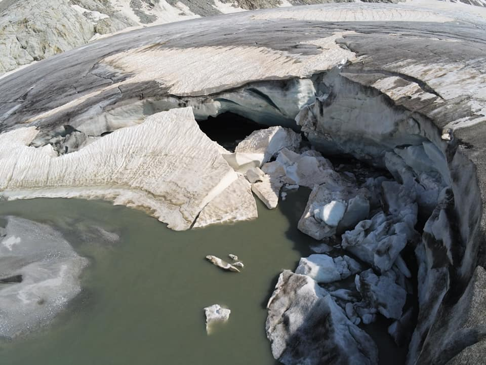 ghiacciai, riscaldamento globale