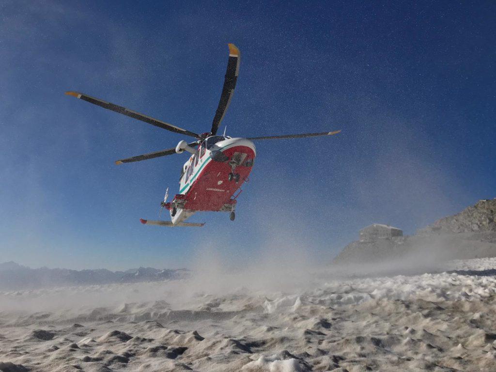 cervino, soccorso alpino valdostano