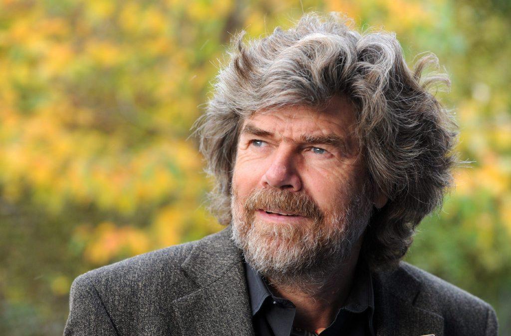 Reinhold Messner. Foto EPA/TOBIAS HASE ANSA