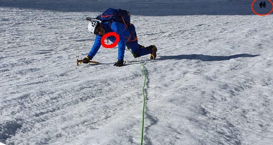 """Photo of Ex ministro francese Woerth """"Alpinista in Erba"""" ad honorem: scala il Monte Bianco e ritocca la foto"""