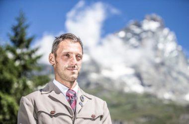 Federico Daricou. Foto Società Guide del Cervino