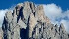 Il Sassolungo dal Monte Pana