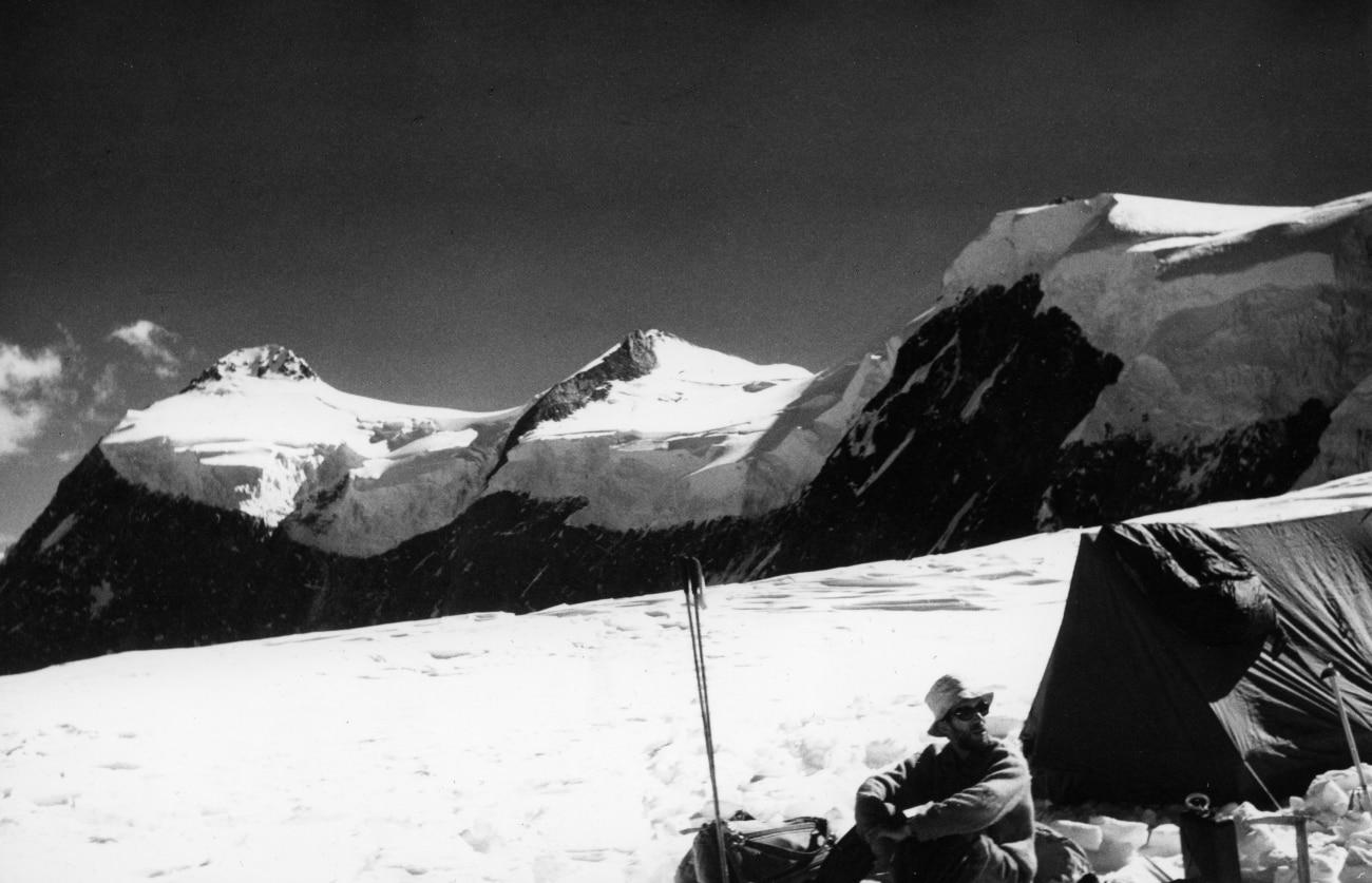 Photo of Saraghrar Peak, sessant'anni fa
