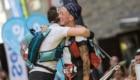Tor 2018 quinto giorno. Scilla Jamie Aarons si abbracciano al traguardo. Foto Alexis Courthoud