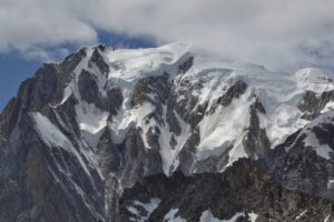 monte bianco, cresta del Brouillard