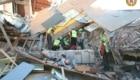 Il CNSAS impegnato nei soccorsi ad Amatrice all'indomani del terremoto del 24 agosto 2016 - Foto FB @CNSAS
