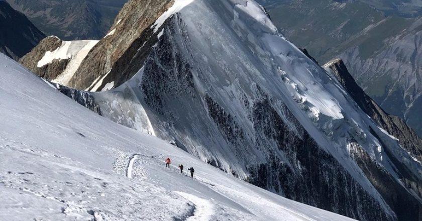 kilian jornet,, monte bianco