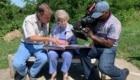 Nonna Joy intervistata dalla CBS - Foto FB @Grandma Joy's Road Trip