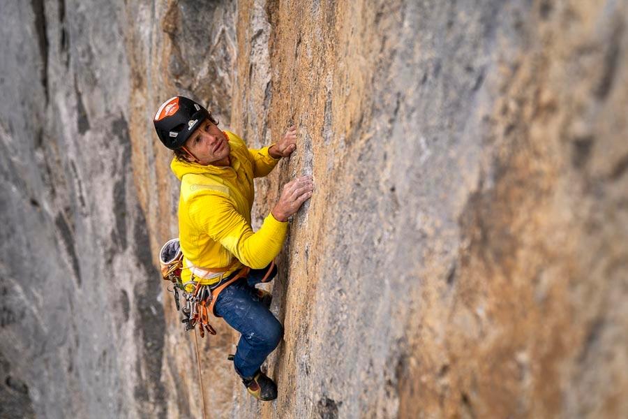 Photo of Roger Schaeli festeggia la cinquantesima salita dell'Eiger