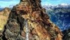 Il ponte tibetano sull'Emilius - Foto FB @Valle d'Aosta Immagini ed Emozioni