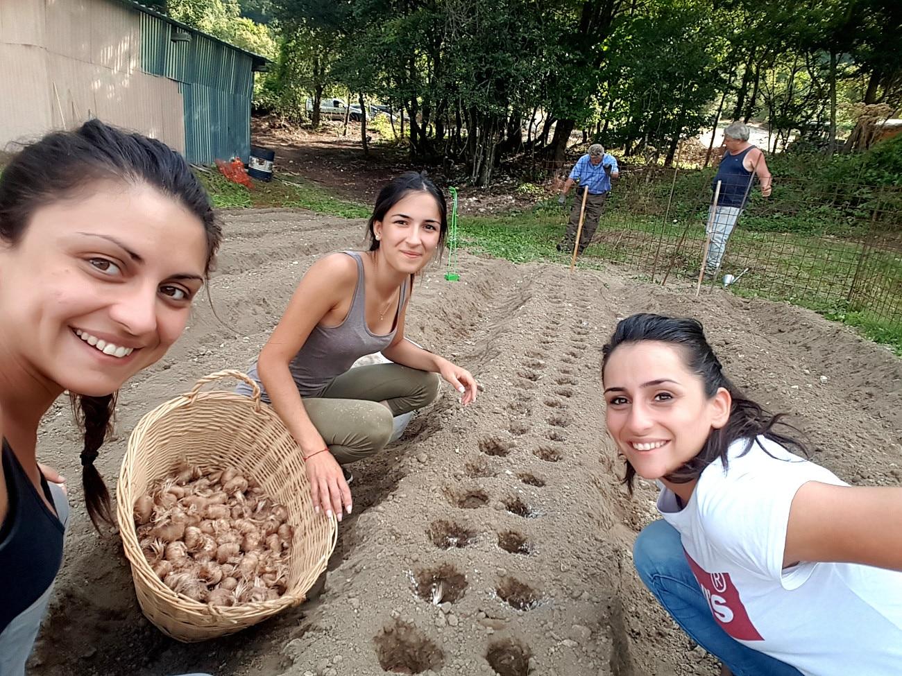 Photo of Julia, Azzurra e Fiamma, le sorelle dello zafferano più forti del terremoto