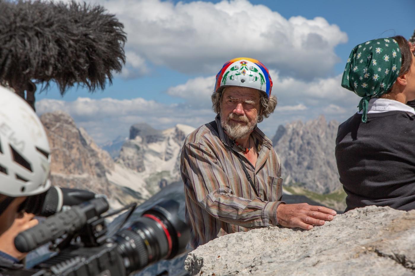 Photo of La Cima Grande di Reinhold Messner – Le immagini delle riprese