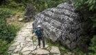 Soria nei primi giorni di trek nella valle del Khumbu - Foto FB @Yo subo con Carlos Soria