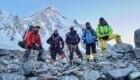 Nirmal Purja con tutta la sua squadra al K2 questa estate.Foto @ Nirmal Purja FB