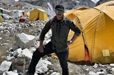 Nirmal Purja al campo base del Cho Oyu