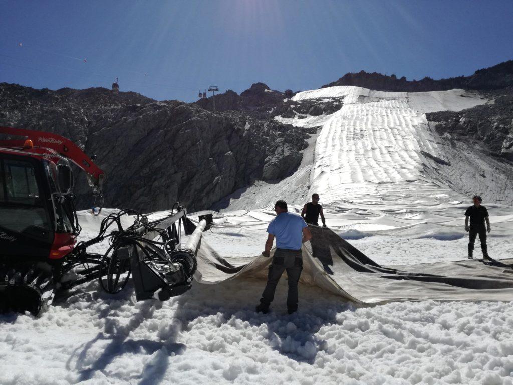 ghiacciaio presena, maxi-coperta