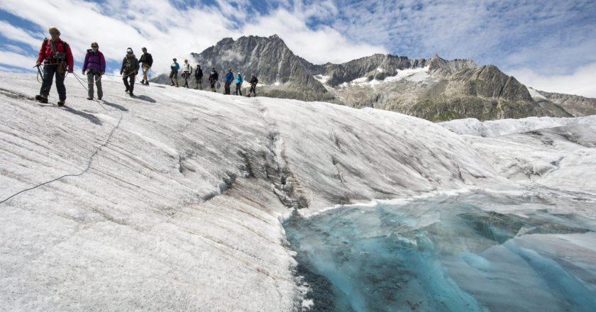 aletsch, ghiacciaio