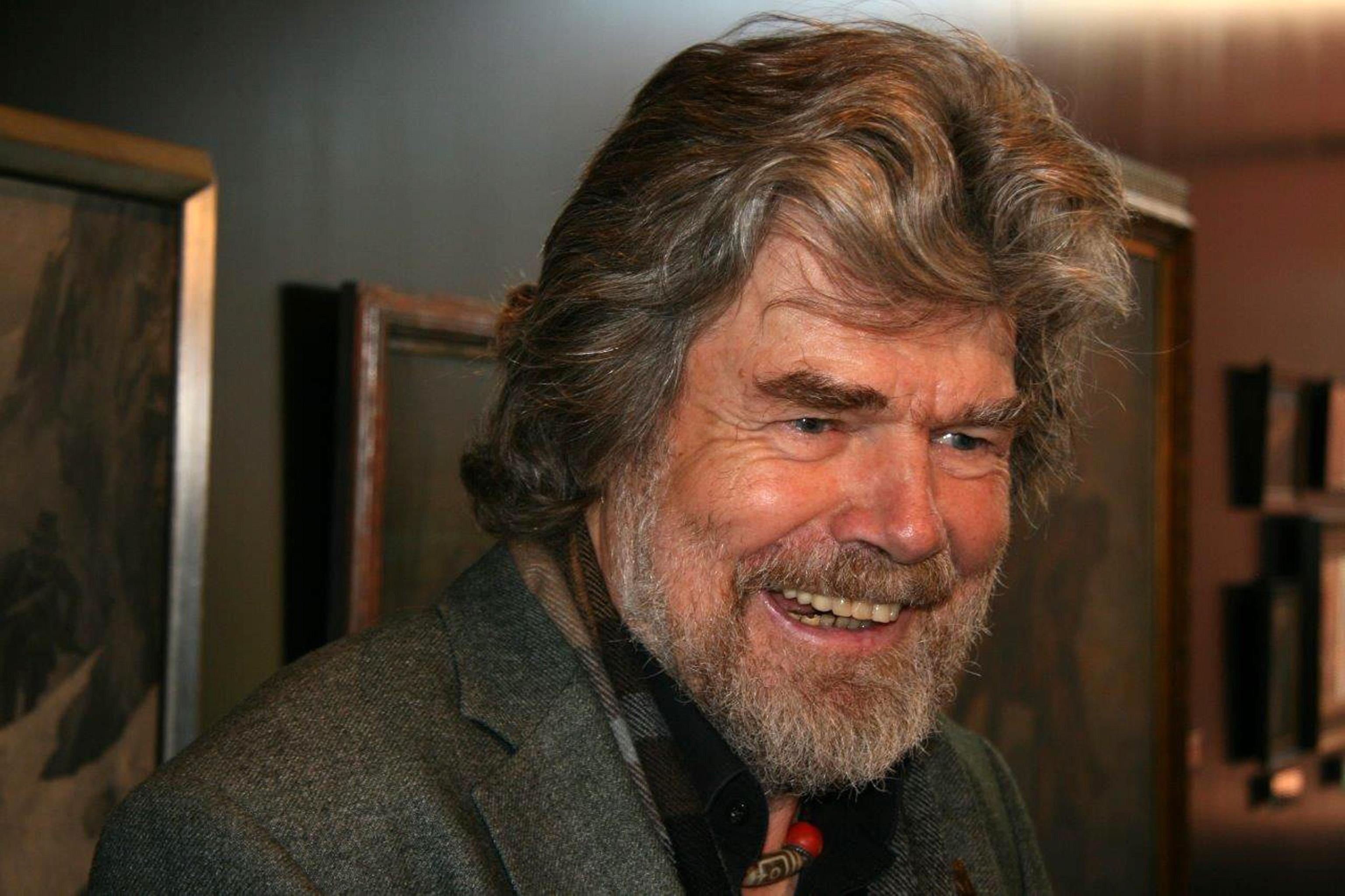 Reinhold Messner. ANSA/STEFAN WALLISCH