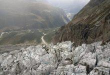 Photo of Pericolo crolli sul ghiacciaio Planpincieux. Abitanti evacuati in Val Ferret