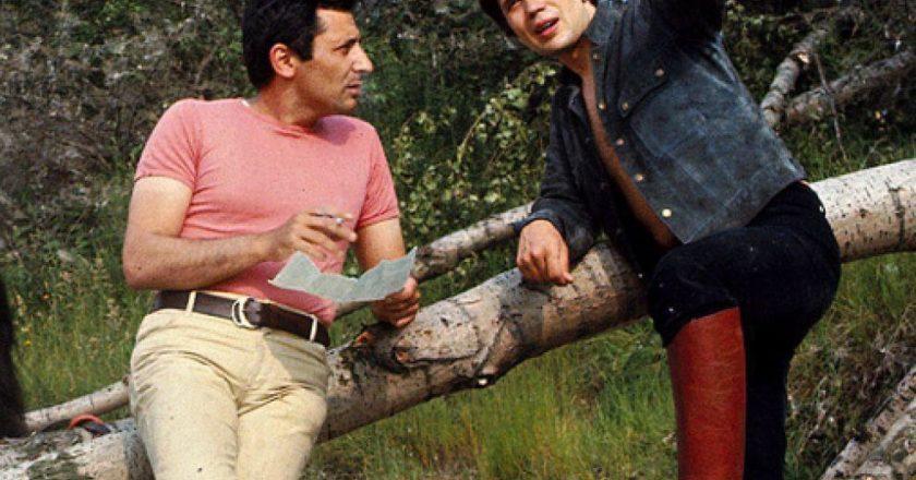 Mogol e Lucio Battisti in una immagine di archivio. Foto ANSA