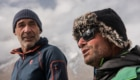 Mike durante la spedizione al K2. Foto archivio Horn