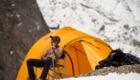 Dalla spedizione al K2. Foto archivio Horn