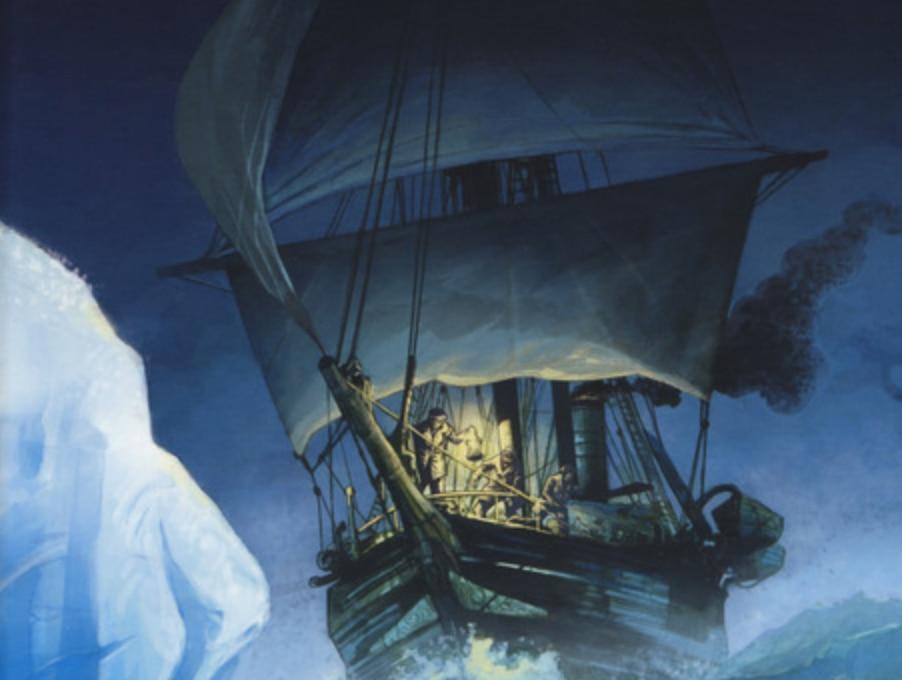 Photo of La straordinaria avventura di Shackleton in una graphic novel
