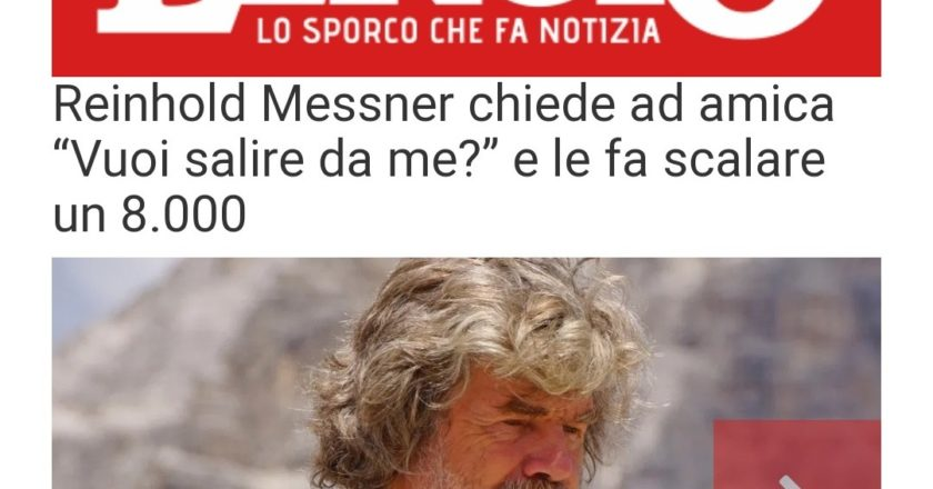 Reinhold Messner, Lercio