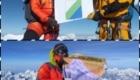 La bandiera dell'Abruzzo in vetta all'Everest - Foto FB @Davide Peluzzi