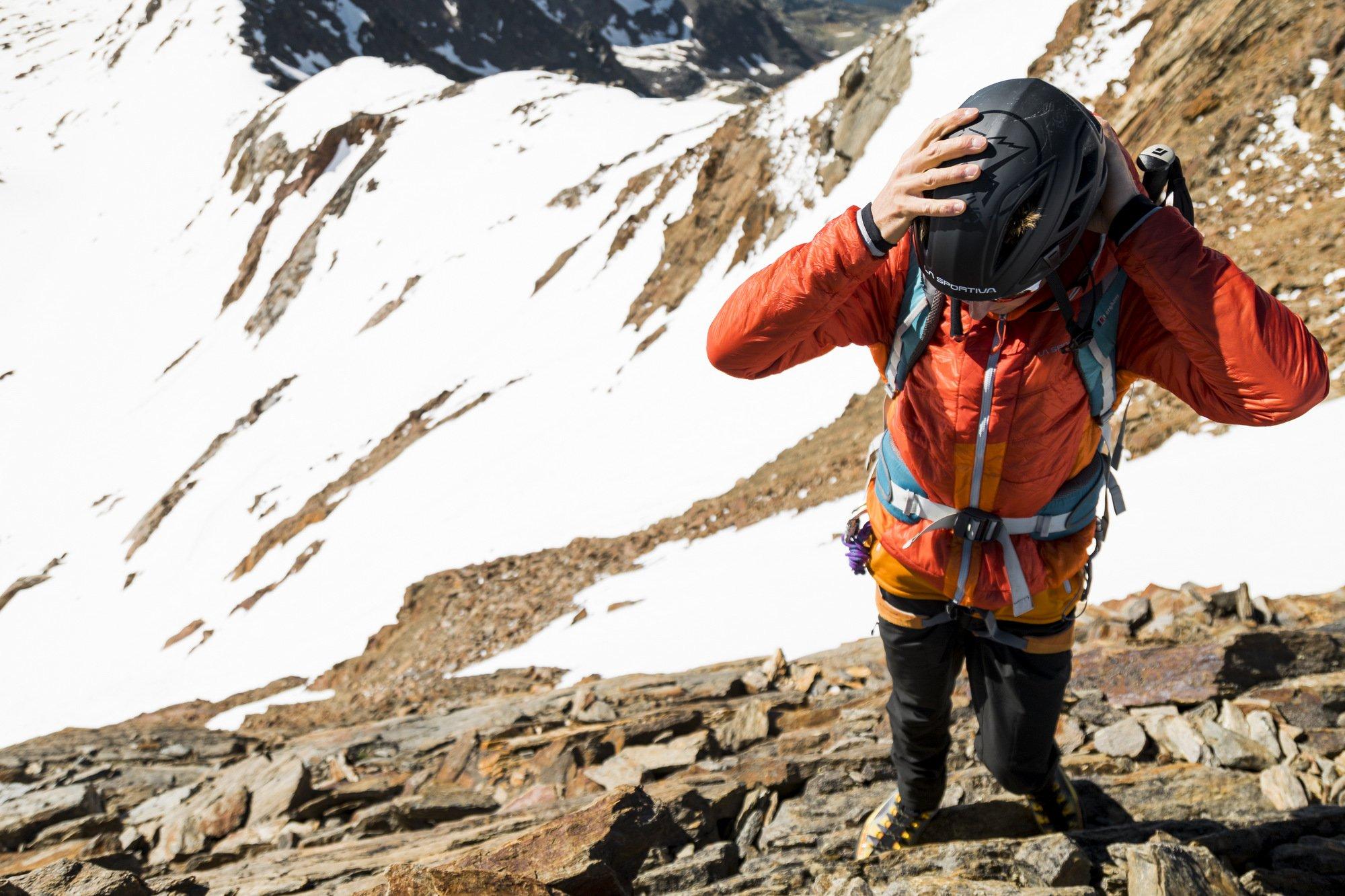 caschetto alpinisticomodello Mulaz Helmet di La Sportiva