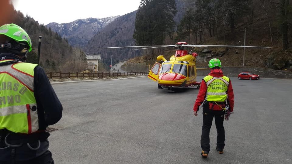 Photo of Alpinista precipita in discesa sul Monviso. Salvato dal Soccorso Alpino
