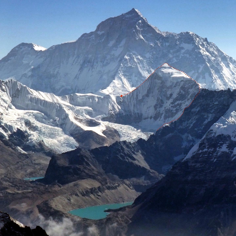 Photo of Luis Stitzinger e Manuel Möller in Himalaya per la traversata sull'inviolato Hongku Chuli
