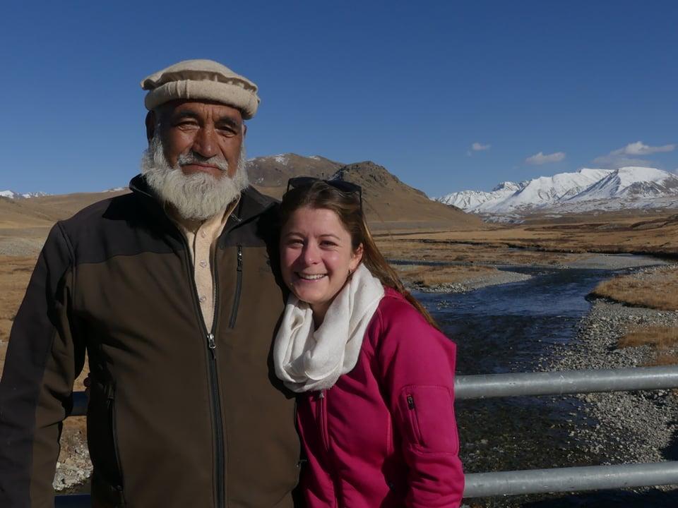 Photo of Kate Ballard, sorella di Tom, al Nanga Parbat