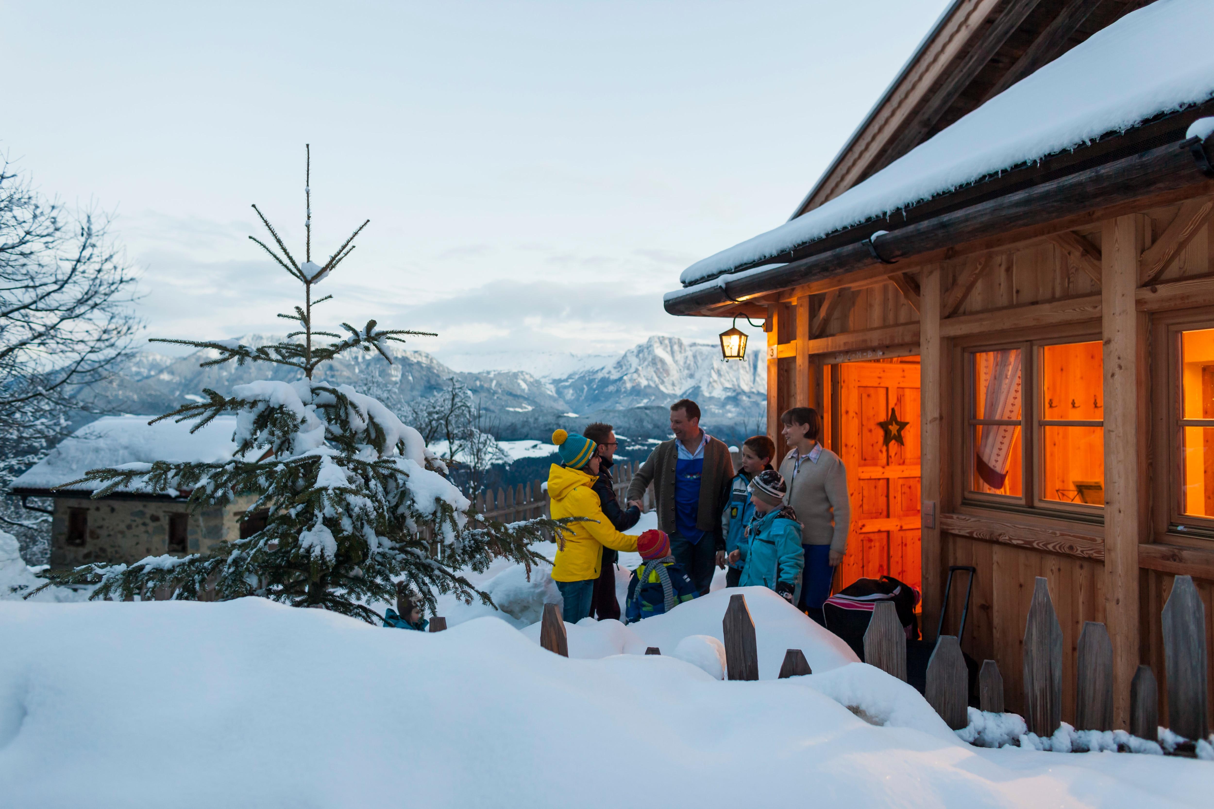 Photo of Con Gallo Rosso l'inverno è lento: sulla neve con una vacanza slow per rigenerarsi completamente