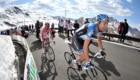 Giro d'Italia al Passo dello Stelvio. Foto archivio @ ANSA/PIER MAULINI