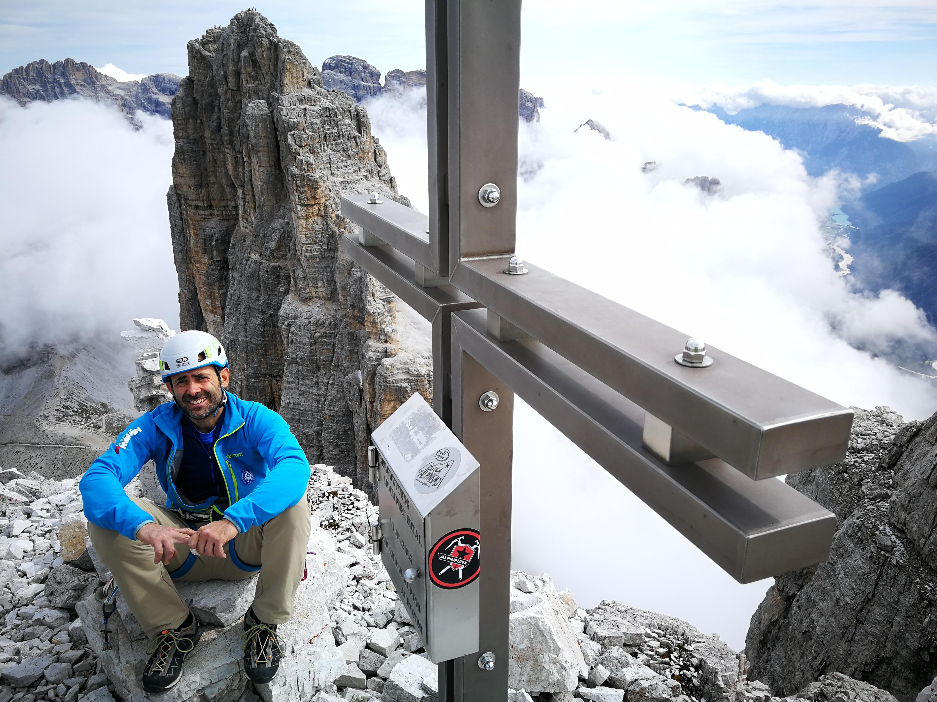 Photo of Nicola Tondini e le Dolomiti, l'avventura dietro casa
