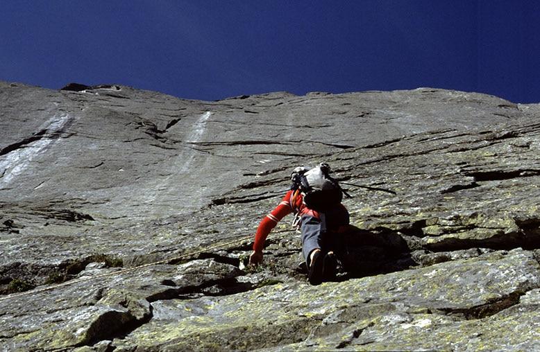 """Photo of """"50 anni dopo"""", la salita di Riccardo Cassin sulla Nord Est del Pizzo Badile del 1987 – Mountain and Chill"""