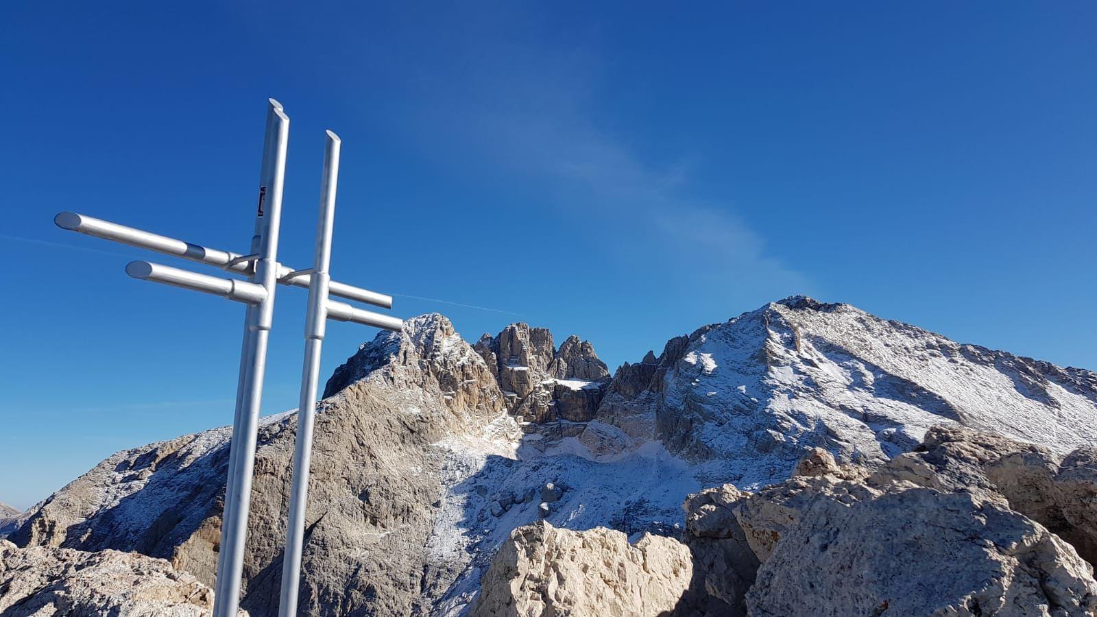 Photo of Nuova croce di vetta sul Corno Piccolo del Gran Sasso