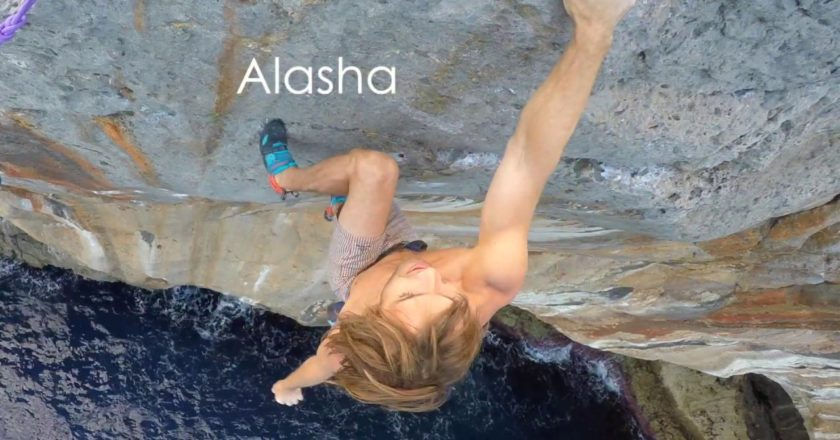 chris sharma, deep water solo, alasha