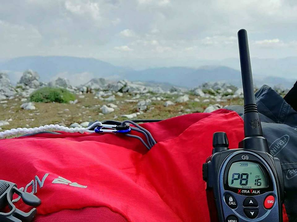CNSAS Abruzzo, rete radio montana
