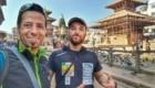 Andrea Lanfri e Luca Montanari a Kathmandu