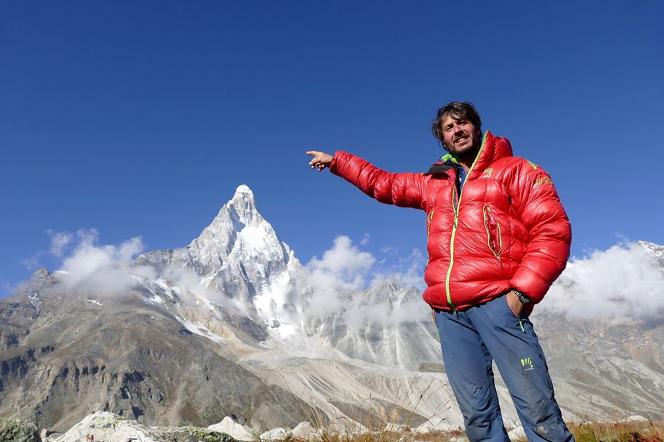 Photo of Matteo Della Bordella su RAI3. Dal Bhagirathi IV al nuovo libro