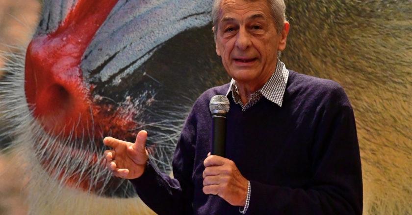 Luigi Boitani al Bioparco
