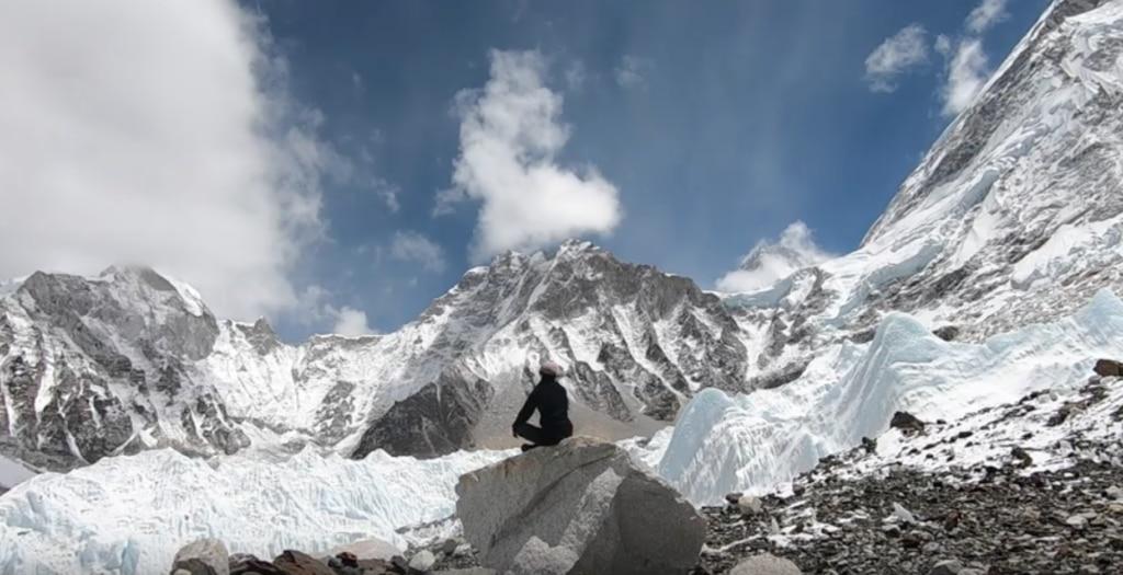 Elisabeth Revol in Himalaya