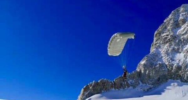 paracadute, everest