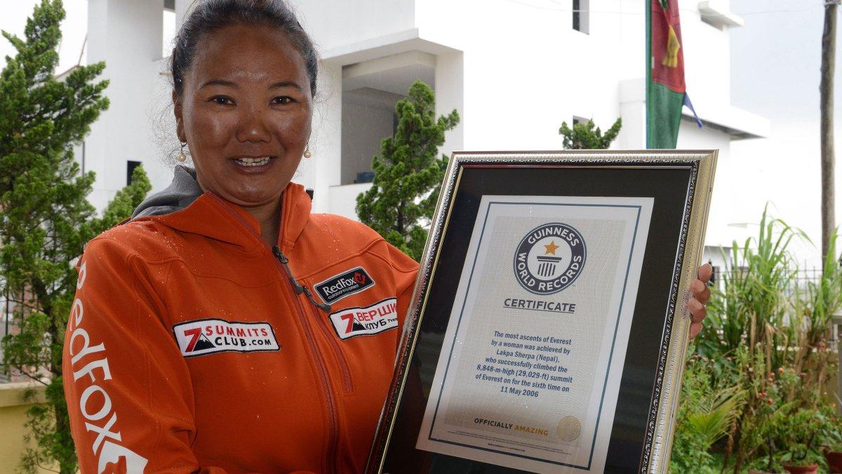 Photo of Lhakpa Sherpa, la lavapiatti che ha scalato 9 volte l'Everest